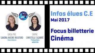 Infos Elues C.E Lignes Air France | SNPNC